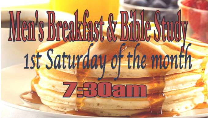 Men's Prayer Breakfast and Bible Study